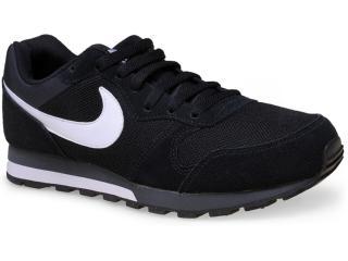 Tênis Masculino Nike 749794-010 md Runner 2  Preto/branco - Tamanho Médio