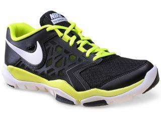 Tênis Masculino Nike 749165-001 Flex Supreme tr 4 Preto/limão - Tamanho Médio