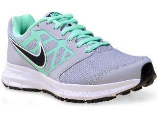 Tênis Feminino Nike 684771-013 Wmns Downshifter 6 Msl  Cinza/verde - Tamanho Médio