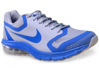 Tênis Masculino Nike 707394-009 Air Max Premiere Run  Cinza/azul - Tamanho Médio