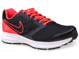 Tênis Masculino Nike 684658-017 Downshifter 6 Msl  Preto/coral - Tamanho Médio