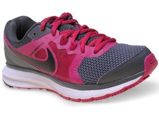 Tênis Feminino Nike 725159-015 Wmns Zoom Winflo Msl Cinza Escuro/pink - Tamanho Médio