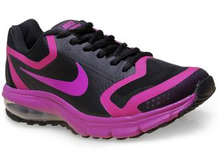 Tênis Feminino Nike 707391-008 Wmns Air Premiere Preto/roxo - Tamanho Médio