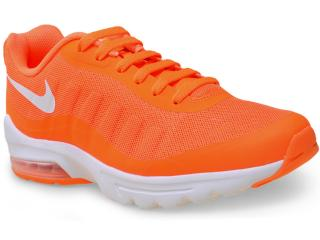Tênis Masculino Nike 749680-810 Air Max Invigor  Laranja Neon - Tamanho Médio