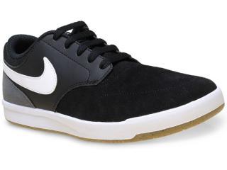 Tênis Masculino Nike 749477-012 sb Fokus  Preto/branco/cinza - Tamanho Médio