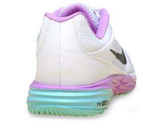 808f0cf0624 Tênis Nike 749175-101 Brancorosaverde Comprar na Loja...