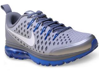 Tênis Masculino Nike 706993-005 Air Max Supreme 3  Cinza/azul - Tamanho Médio