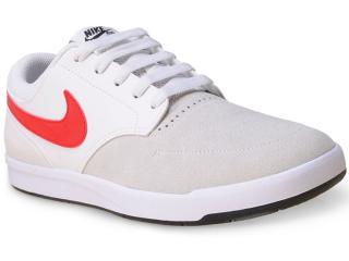 Tênis Masculino Nike 749477-160 sb Fokus  Gelo/branco/vermelho - Tamanho Médio