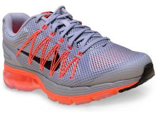 Tênis Masculino Nike 703072-018 Air Max Excellerate 3  Cinza/laranja Neon - Tamanho Médio