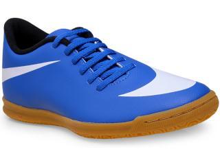 Tênis Masculino Nike 768924-410 Bravata ic  Azul/branco - Tamanho Médio