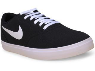 Tênis Masculino Nike 705268-010 sb Check Cnvs Preto/branco - Tamanho Médio