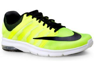 Tênis Masculino Nike 811099-701 Air Max Era  Limão/preto - Tamanho Médio