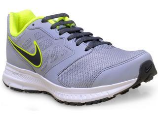 Tênis Masculino Nike 684658-021 Downshifter 6 Msl  Cinza/limão - Tamanho Médio