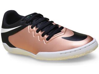 Tênis Masculino Nike 749903-903 Hypervenom Pro ic   Preto/cobre - Tamanho Médio
