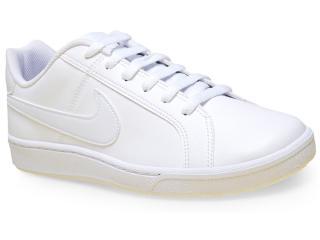 Tênis Masculino Nike 749747-111 Court Royale  Branco - Tamanho Médio