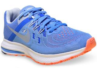 Tênis Feminino Nike 807279-401 Zoom Winflo 2 Azul  Claro - Tamanho Médio