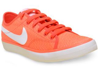 Tênis Feminino Nike 820202-618 Wmns Primo Court Txt  Laranja Neon - Tamanho Médio