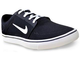 Tênis Masculino Nike 723874-003 sb Portmore Cnvs  Preto/branco - Tamanho Médio