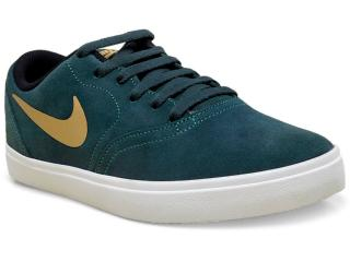 Tênis Masculino Nike 705265-370 sb Check Verde Musgo - Tamanho Médio