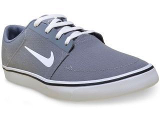 Tênis Masculino Nike 723874-004 sb Portmore Cnvs Cinza/branco - Tamanho Médio