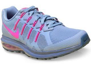 Tênis Feminino Nike 819154-401 Air Max Dynasty Msl  Azul/pink - Tamanho Médio