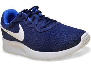 Tênis Masculino Nike 812654-414 Tanjun  Marinho - Tamanho Médio
