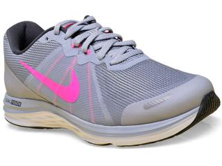 139333db07655 Tênis Feminino Nike 819318-007 Dual Fusion x 2 Cinza/pink