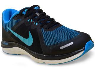 Tênis Feminino Nike 819318-006 Dual Fusion x 2  Preto/azul - Tamanho Médio