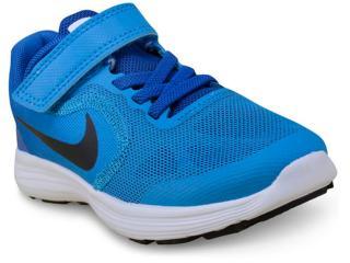 b8ad7f9cd0e Tênis Masc Infantil Nike 819414-407 Revolution 3 Psv Azul