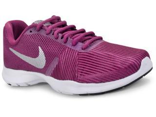 Tênis Feminino Nike 881863-601 Flex Bijoux Vinho/branco - Tamanho Médio