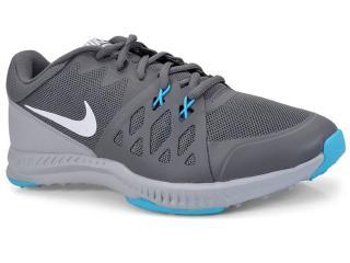 Tênis Masculino Nike 852456-061 Air Epic Speed tr Cinza/azul - Tamanho Médio
