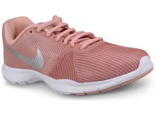 Tênis Feminino Nike 881863-610 Flex Bijoux Rosa - Tamanho Médio