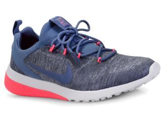 660f913fe0d6b Tênis Feminino Nike 916792-402 Wmns ck Racer Cinza roxo pink