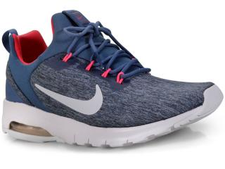 Tênis Feminino Nike 916786-401 Wmns Air Max Motion Azul/rosa - Tamanho Médio