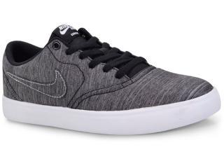 Tênis Masculino Nike 844493-001 sb Check Solar Cnvs Grafite/preto - Tamanho Médio