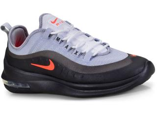 Tênis Masculino Nike Aa2146-001 Air Max Axis Cinza/preto - Tamanho Médio