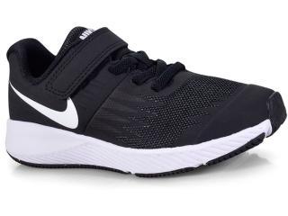 447007b9dae Tênis Masc Infantil Nike 921443-001 Star Runner Preto branco