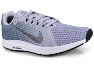 bab1e033af Tênis Feminino Nike 908994-006 Wmns Downshifter 8 Cinza branco