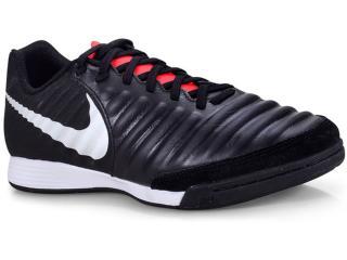 Tênis Masculino Nike Ah7244-006 Tiempo Legendx 7 Academy ic Preto/branco/vermelh - Tamanho Médio