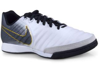 Tênis Masculino Nike Ah7244-100 Tiempo Legendx 7 Branco/preto/dourado - Tamanho Médio
