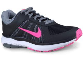 Tênis Feminino Nike 831539-006 Wmns Dart 12 Msl Preto cinza rosa 8a5a54118c46a