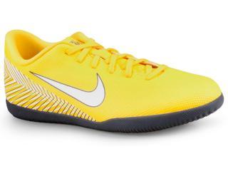 Tênis Masculino Nike Ao3120-710 Neymar Vaporx 12 Club ic Amarelo/branco - Tamanho Médio