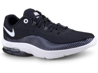 Tênis Feminino Nike Aa7407 001 Air Max Advantage 2 Pretobranco