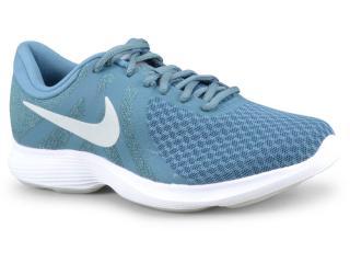 Tênis Feminino Nike 908999-405 Wmns Revolution 4 Verde - Tamanho Médio