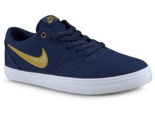 Tênis Masculino Nike 843896-403 sb Check Solar Cnvs Marinho 1709f0af267ec