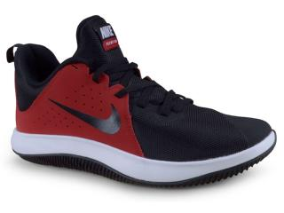 Tênis Masculino Nike 908973-600 Air Behold Low ii Preto/vermelho/branco - Tamanho Médio