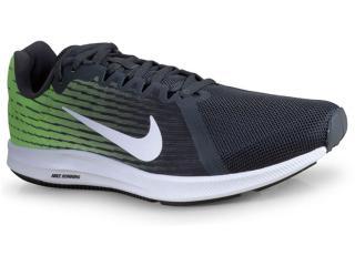 Tênis Masculino Nike 908984-013 Downshifter 8  Preto/limão - Tamanho Médio