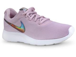 Tênis Feminino Nike 812655-503 Tanjun Rosa/branco - Tamanho Médio