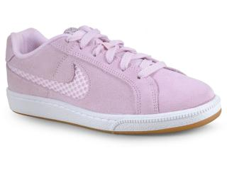 Tênis Feminino Nike Aj7731 600 Court Royale Premium Lilas Claro