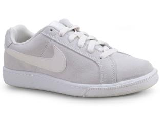 Tênis Feminino Nike Aj7731-001 Wmns Court Royale Cinza/branco - Tamanho Médio